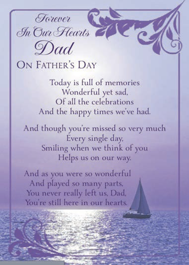 Fathers Day Poems for Deceased, Fathers Day Poems for Dads in Heaven, Fathers Day Poems for Dads who passed away