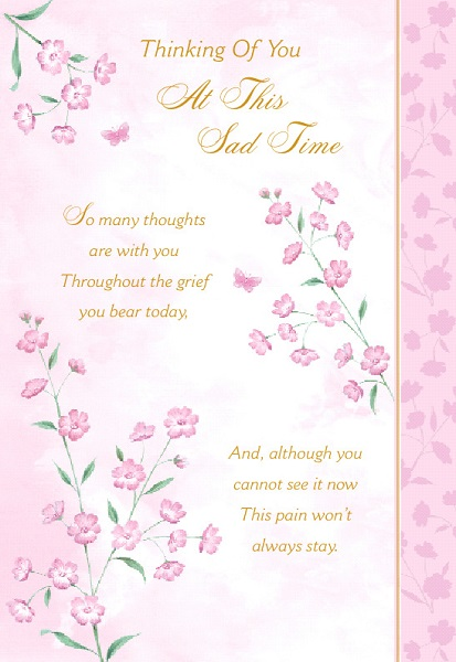 Sympathy Cards With Soothing Words Birthdaywishesandmore