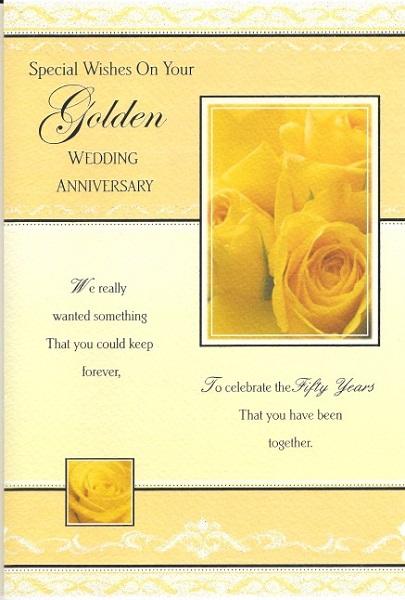 Milestone Anniversary Greetings