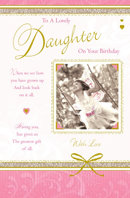 Sentimental Birthday Wishes For Daughter submited images | Pic2Fly