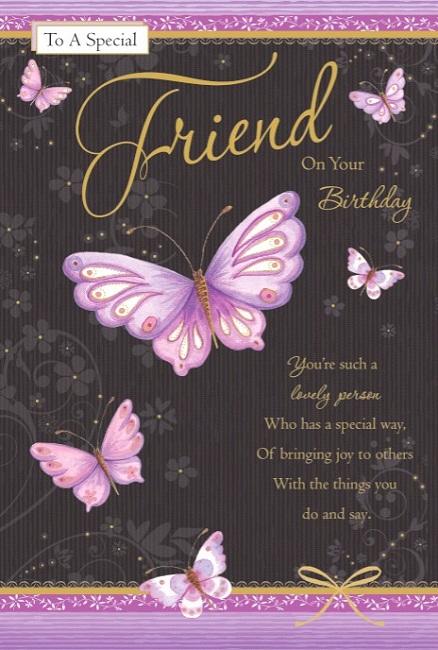 Female Friendship Birthday Greetings