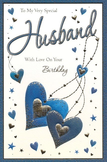 husband birthday greetings