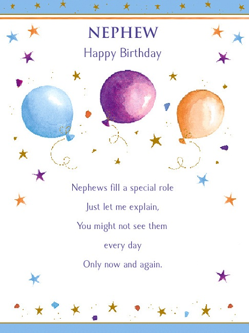 Happy 1st Birthday Nephew Poems 1st Birthday Ideas