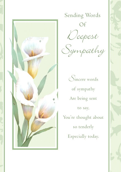Sympathy Cards With Soothing Words- Birthdaywishesandmore