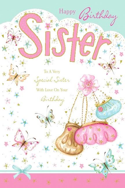 Sister birthday greetings birthday greetings sister m4hsunfo Images