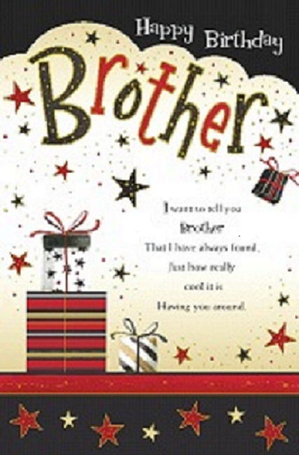 Brother Birthday Greetings – Birthday Greeting to Brother