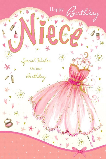 Happy birthday card for a special niece m4hsunfo