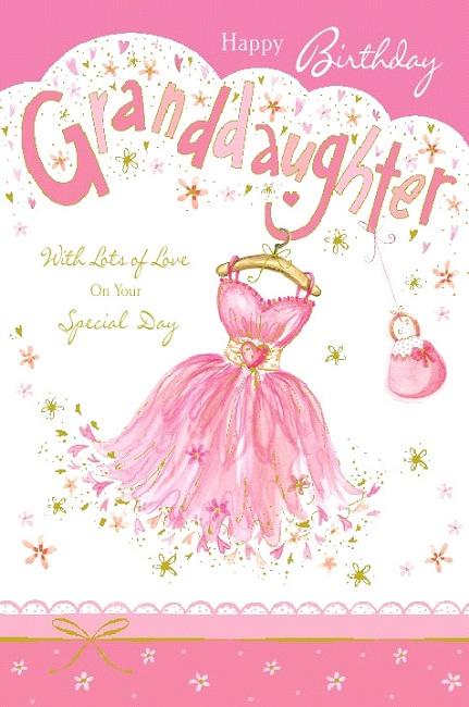 Daughter Birthday Greetings – Birthday Greetings Granddaughter